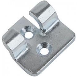 Crochet 16C en acier zingué pour fermeture à levier
