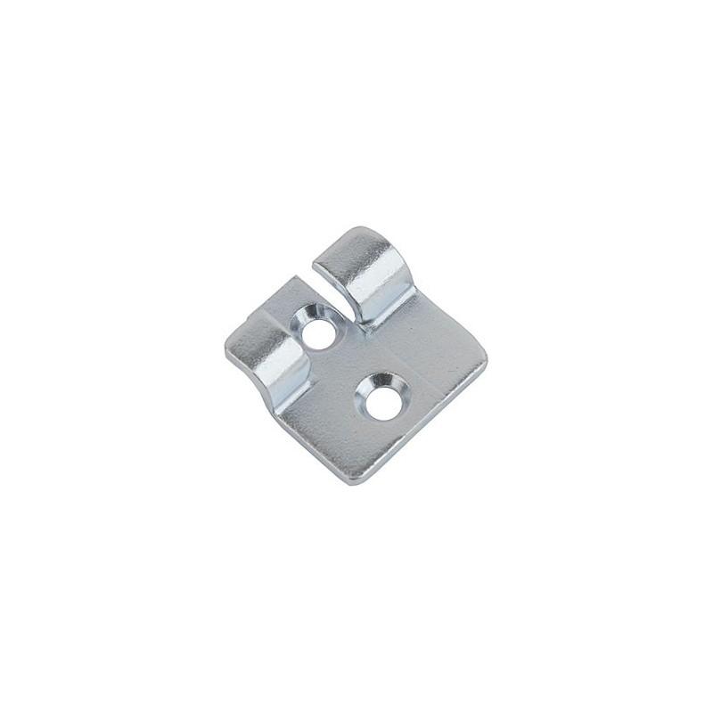 crochet 18 c en acier zingu pour fermeture levier gallet equipements industriels. Black Bedroom Furniture Sets. Home Design Ideas